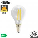 Sphérique LED E14 495lm 2700K