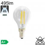 Sphérique LED E14 495lm 4000K