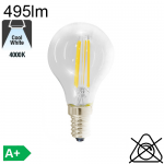 Sphérique LED E14 470lm 4000K