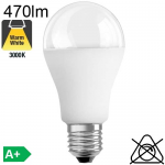 Standard LED E27 12VACDC 6W 3000K 470lm